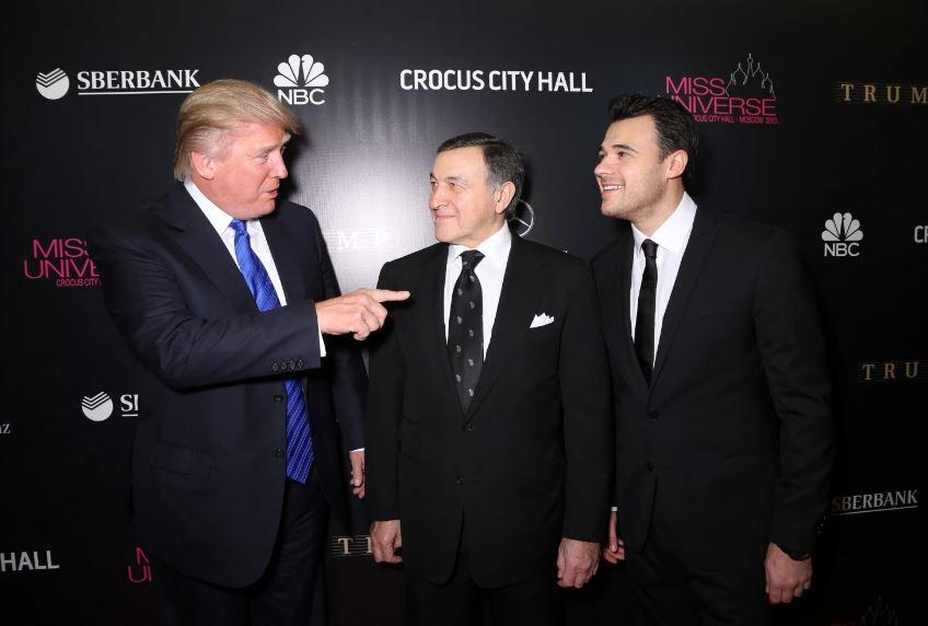 GettyImages - Trump Agalarov