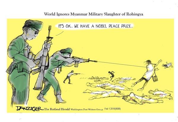 Myanmar Slaughter